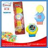 Iluminación Musical Talking Mobile Phone reloj de juguete con Candy