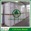 C1s Ivory Vorstand/Fbb beschichteten einen seitlicher Vorstand-faltenden Kasten-Vorstand