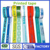 Weijie Logo e Words Printed BOPP Adhesive Packaging Tape Made in Cina