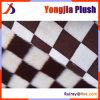 커피 색깔 사각 자카드 직물 밍크 모피 플러스 1500g 백색