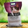 litera de gato irregular salvaje de la bentonita 5kg con las partículas de carbón activas