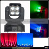 Mini LED Zoom 4X15W Moving Head Wash Light