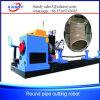 Cortador del plasma de la tela Machine/CNC del tubo de acero