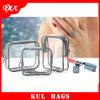 (KL014) Sac de lavage de mode, sac de produit de beauté de Madame de sac de toilette PVC