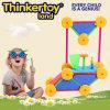 Os brinquedos educativos bricolage interessantes para 3-6 Kids Building Block Brinquedos
