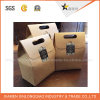 Sacos feitos sob encomenda diretos do papel de embalagem de Brown da melhor fábrica da qualidade