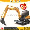 Hot Sale Sinomach 0,22 m3 de la construction d'équipements d'ingénierie de la machine 6 tonnes mini-excavatrice chenillée hydraulique