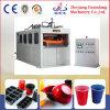 Máquina plástica de Thermoforming de la calidad para la taza de cristal