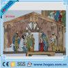 Polyresinの樹脂の宗教のイエス・キリストの飼い葉桶の彫像(HG497)