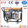 Fácil manejo de grupo electrógeno diesel (DG6LE)
