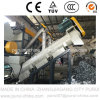 Ligne de lavage non tissée de tissu du plastique pp pour réutiliser (1000KG/H)