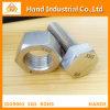 La norme ASME UN194 B8 B8M M52 l'écrou hexagonal avec la vis
