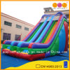 Corrediça de água inflável colorida grande do equipamento do parque de diversões (AQ09169)