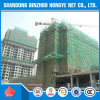 2016 HDPE Fire Retardant Safety Construction Mesh / Green Net for Construction Uso com Eyelet