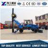 Machines de construction montées par camion de bélier d'excavatrice de vis