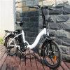 Bicicleta En15194 elétrica que dobra-se com a bateria de lítio 10ah