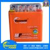 Batterie 12V 3L de moto du marché de Spaninsh