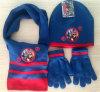 Шлем Three-Piece костюма перчаток шарфа Beanie связанный