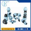 Garnitures en plastique de connecteur de boyau pour des systèmes de pipe