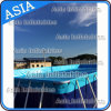 Structure de cadre en métal, enceintes de piscine, toboggan de piscine