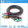 Pin 5 cable micro USB Cable de carga de Sinc.