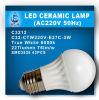 ampoule en céramique de 3W LED (C31-CTW110V-E27B-3W)