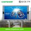 Chipshow P20 LED a todo color al aire libre que hace publicidad de la exhibición