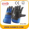 De donkere Handschoenen van het Werk van de Veiligheid van de Hand van het Leer van het Meubilair van de Zweep Industriële (310044)