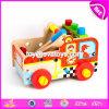 Настройка новых образовательных воспроизведения установите деревянные детские игрушки инструменты W03D082