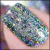 Shinning порошок яркиев блесков ногтя пыли радуги Holo, хлопья галактики голографические