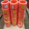 Courroie ronde de polyuréthane lisse orange