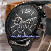 Montres-bracelet faites sur commande de quartz de montre de Suisse de montres pour les hommes (WY-G17012A)