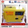 Bewegliche bewegliche leise Luft abgekühlter 5kVA/4kw 6kVA 4kVA Diesel-Generator