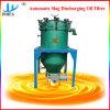 Les scories de décharge automatique du filtre à huile de charbon activé
