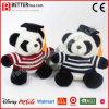 Panda suave de la felpa del juguete del animal relleno del regalo para los graduados de la universidad