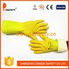 Ddsafety 2017年のBlue&Yellowの乳液のネオプレンの世帯の手袋の安全手袋
