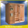 Matériel en bois plein et type principaux pièce sèche de salles de sauna de sauna