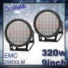 Ce en RoHS van uitstekende kwaliteit 12V 24V 320watt 9inch LED Driving Light van High Intensity