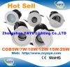 CREE caliente LED Downlight de la MAZORCA 5With7With10With12With15With18With20W de la venta de Yaye 2016 con Ce/RoHS