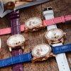 Señora original Diamond Dress Watches de la marca de fábrica de 2016 nuevos de la manera de las mujeres del reloj del cuarzo relojes de imitación impermeables del zafiro