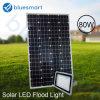 2017 Nuevo LED lámpara solar calle con un panel solar 80W