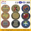 Monedas de encargo de la venta al por mayor de la insignia del metal