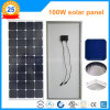 Панель солнечных батарей Китая самая лучшая S/M-100W Sunpower Monocrystalline