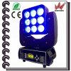 Luz principal móvil de la viga de la matriz del LED 9PCS