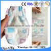 Commerce de gros bébé couche jetable respirante avec crochet et boucle Tape