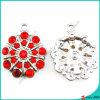 Hadas flor de piedra roja charmsJewelry DIY (MPE)
