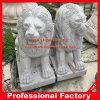 Estátua do leão de pedra de granito Escultura do leão