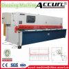 Accurl 단두대 유압 강철 깎는 기계