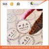 De zelfklevende Afgedrukte Sticker van het Voedsel van de Dienst van het Overdrukplaatje van de Druk van het Etiket van het Document