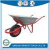Capacidad 130 Kg de jardín carretilla de mano sin orificios (BM6408)